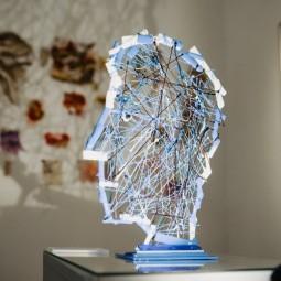 Выставка «Сопряжение фактур. Гобелен и стекло»