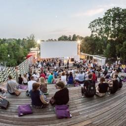 Летний кинотеатр «Пионер» в «Музеоне» 2019