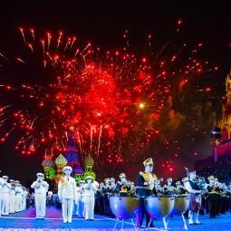 Военно-музыкальный фестиваль «Спасская башня» 2016