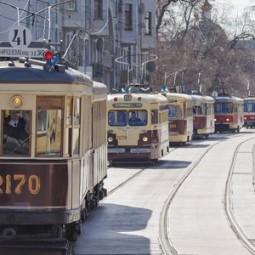 Парад трамваев 2018