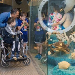 Международный день защиты детей в Дарвиновском музее 2019