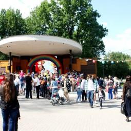 День России в Лианозовском парке 2016