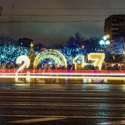 Новогодние каникулы в Москве 2017