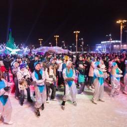 Старый Новый год на катке ВДНХ 2017