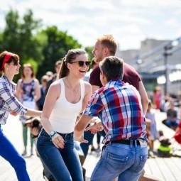 День танца в Парке Горького 2017