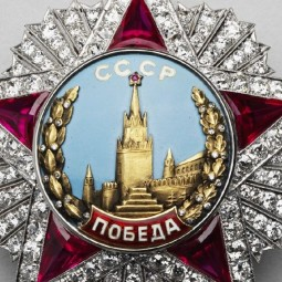 Выставка «Военные награды России. К 75-летию Победы во Второй мировой войне»