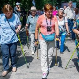 Международный день пожилых людей в парках Москвы 2018