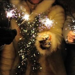 Новогодняя ночь 2016 в парке «Сиреневый сад»