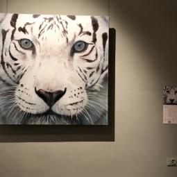 Выставка «Белый тигр Запада идет на Восток»
