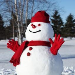 Фестиваль снеговиков в парке «Сокольники» 2017