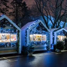 Рождественская ярмарка на ВДНХ 2016