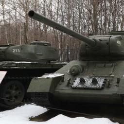 Празднование 77-летия танка Т-34