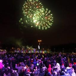Новый год в Измайловском парке 2018