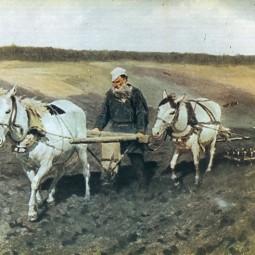 Выставка «Репин: миф о Толстом»