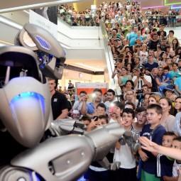Новогоднее «Титан-шоу» на Робостанции 2017/18