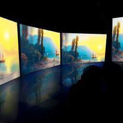 Мультимедийная выставка «Айвазовский — Ожившие полотна»