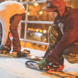 Открытие сноуборд-парка CITY SPOT в Парке Горького 2016