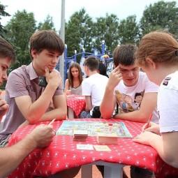 Летняя игротека в Парке Победы 2017