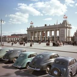 Выставка «Парк Горького: Фабрика счастливых людей»