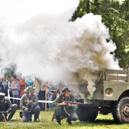Военно-исторический фестиваль «Рубеж»