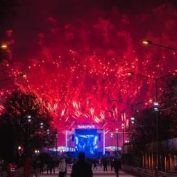 Новогодняя ночь в Парке Горького 2018
