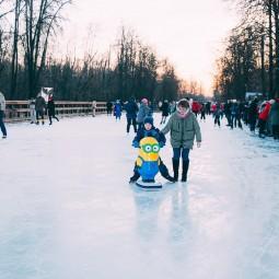Каток в Перовском парке 2020-2021