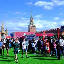 Парк футбола ЧМ-2018 на Красной площади