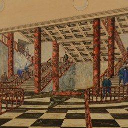 Выставка «Московское метро — подземный памятник архитектуры»