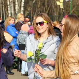 Международный женский день в парках Москвы 2018