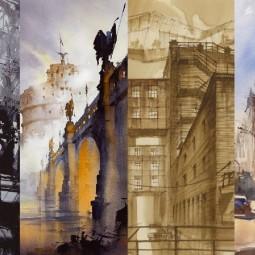 Выставка «Города в движении»