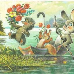 Выставка «Традиции весенних праздников в отечественных открытках»