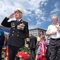 Празднование Дня Победы в Москве 2017
