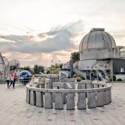 Открытие Парка Неба и Большой обсерватории в Планетарии 2016