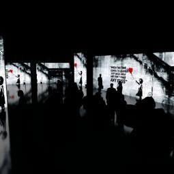 Мультимедийная выставка Banksy