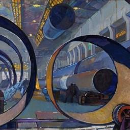 Выставка «Индустриальный мир. Коллекция Челябинского трубопрокатного завода»