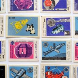 Выставка «Космос в спичечном коробке»