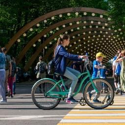 Прокат велосипедов в парках Москвы 2021