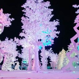 Новогодние праздники в парке «Сокольники» 2018