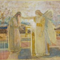 Выставка «Александр Иванов. Библейские эскизы. Благовещение»