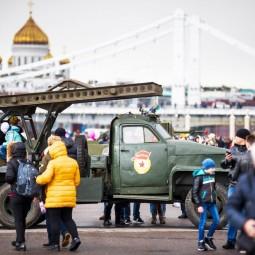 Экскурсионный марафон ко Дню победы в Парке Горького 2018