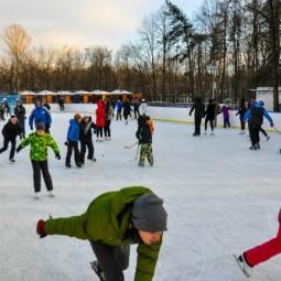 Открытие зимнего сезона в парке Фили 2016