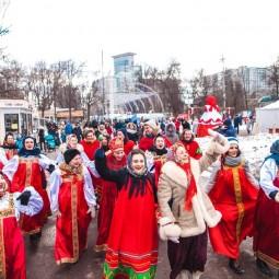 Масленица впарке «Сокольники» 2018