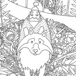 Выставка «Иллюстрации к графическому роману о Сером Волке»