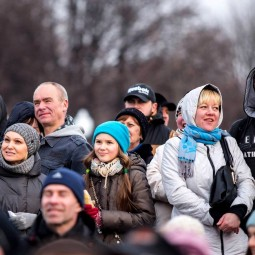 23 февраля в Парке Горького 2016