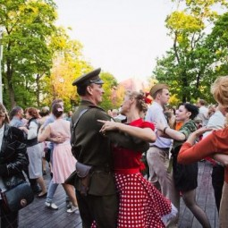 День Победы в саду «Эрмитаж» 2017