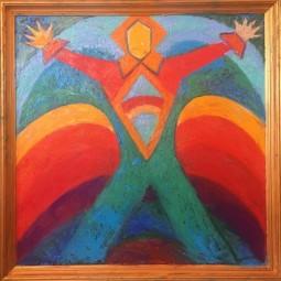 Выставка «Татьяна Сельвинская. Геометрия радуги. Музыка цвета. Живопись»
