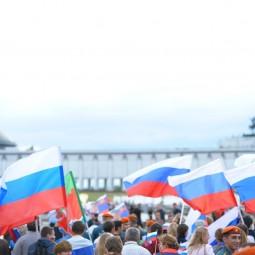 День России в Парке Победы 2017