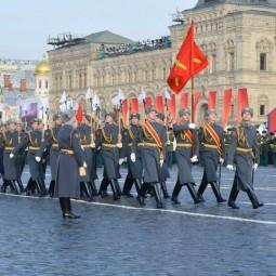 Марш в честь 78-летия парада 1941 года на Красной площади