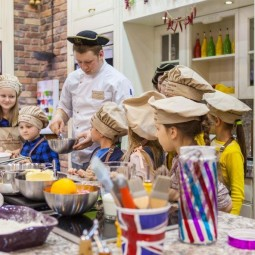 Кулинарная школа для детей «Шато де Вэссель» в ЦДМ на Лубянке