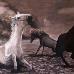 Выставка «Ребятам о зверятах»
